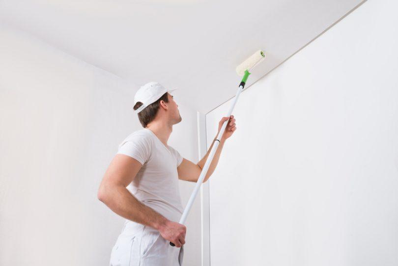quelle peinture pour un plafond