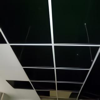 Faux plafond 60x60 vue rails