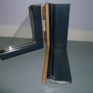 Fenêtre bois aluminium vue ouverte