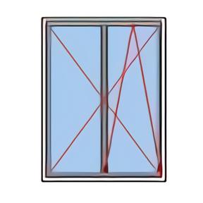 Fenêtre rénovation oscillo-battant