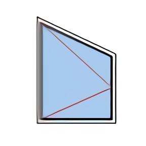 Fenêtre rénovation trapèze