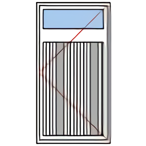 Porte de service rénovation
