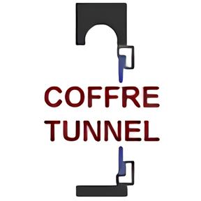 Schéma pose fenêtre sous coffre tunnel