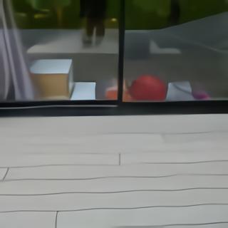 Terrasse bois appui fenêtre lames parallèles