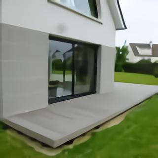 Terrasse bois vue petit côté