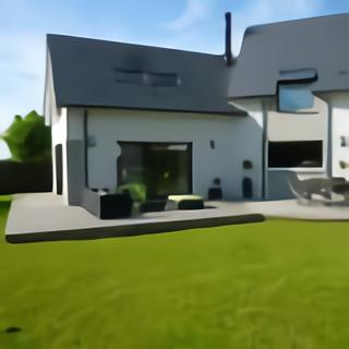 Terrasse en bois composite aménagée