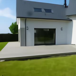 Terrasse fiberon pro en cours de finition