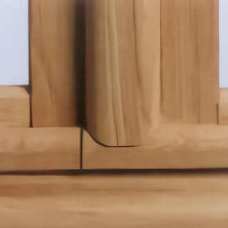 Battement fenêtre extérieur arrondi en chêne