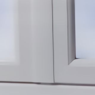 Battement PVC extérieur épuré