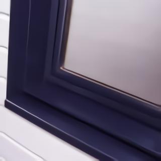 Fenêtre aluminium spécifique maison ossature bois