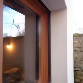 Fenêtre bois dormant rénovation vue extérieure