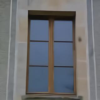 Fenêtre en chêne avec petits bois horizontaux