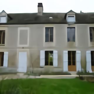 Fenêtres en chêne façade maison ancienne