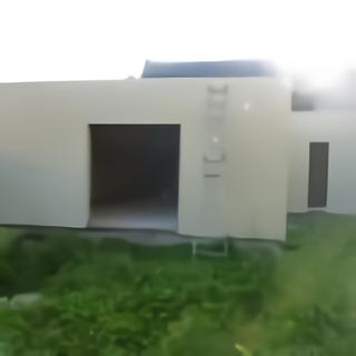 Ossature bois sans fenêtre aluminium