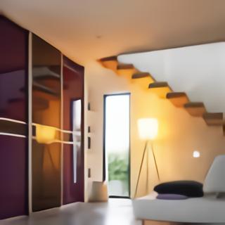 Porte coulissante loft