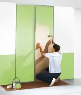Porte décor à peindre