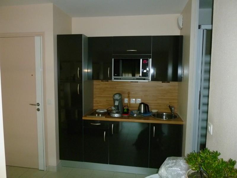 Rénovation modeste d'une cuisine dans un petit studio à Rennes