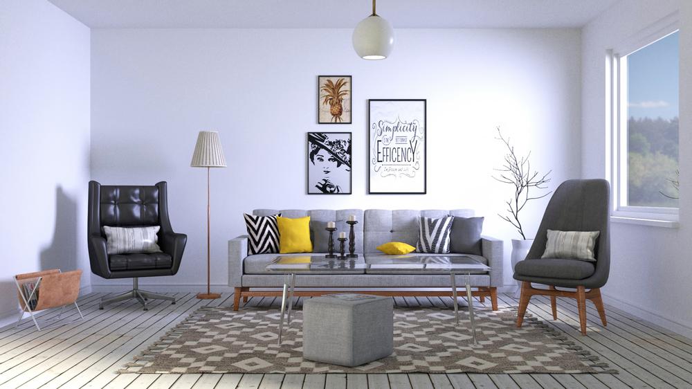 Aménagement intérieur de studio de jardin