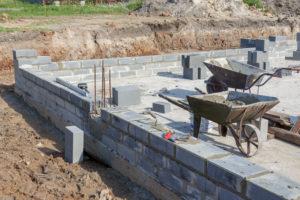 Fondation pour construction maison